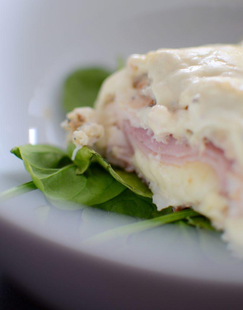 Baked Dijon Chicken Cordon Bleu-024