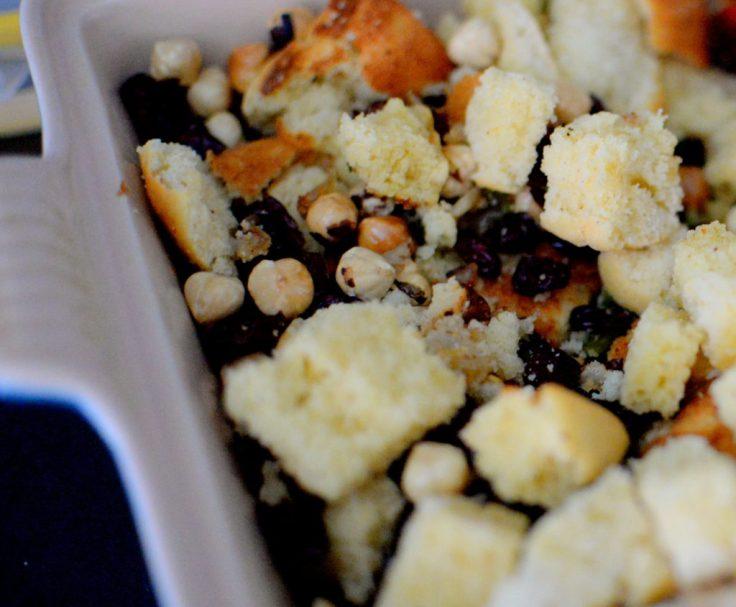 Crispy Cornbread Crouton Stuffing-004