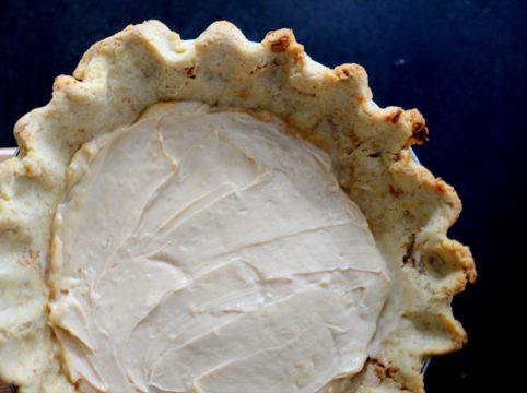 Salted Caramel Pear Cream Pie-006