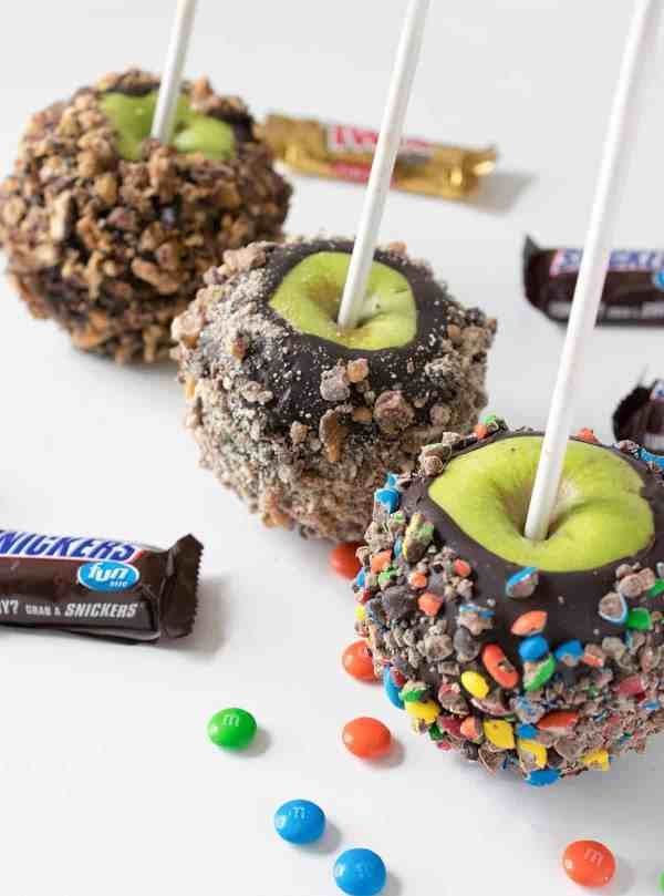 Gifts from your Kitchen - Chocolate Dipped Candy Apples