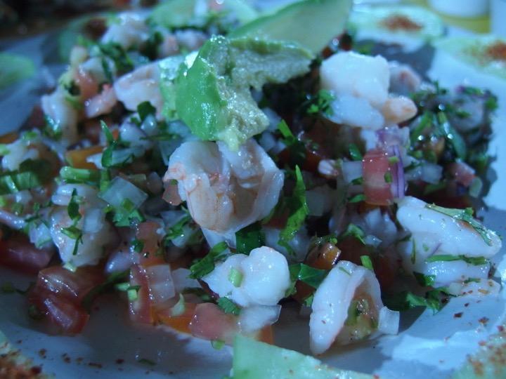 La Cevicheria Shrimp Ceviche