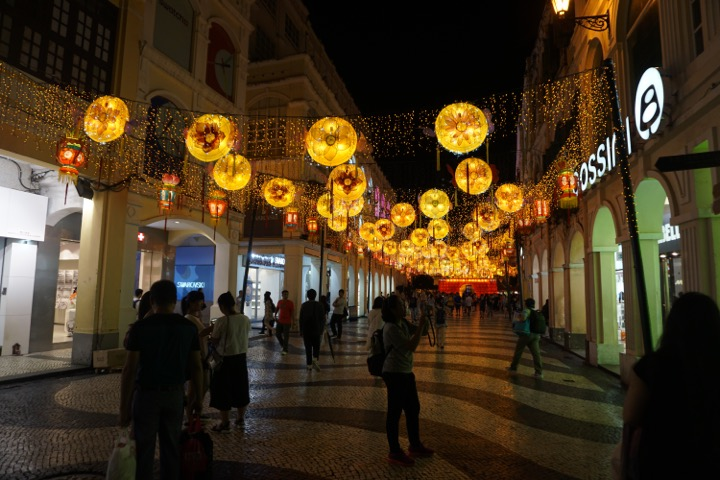 Decorated for Mid-Autumn Festival (September 15)
