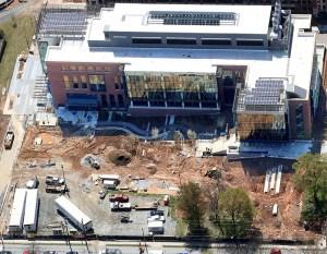 Atlanta Aerial Construction Progress