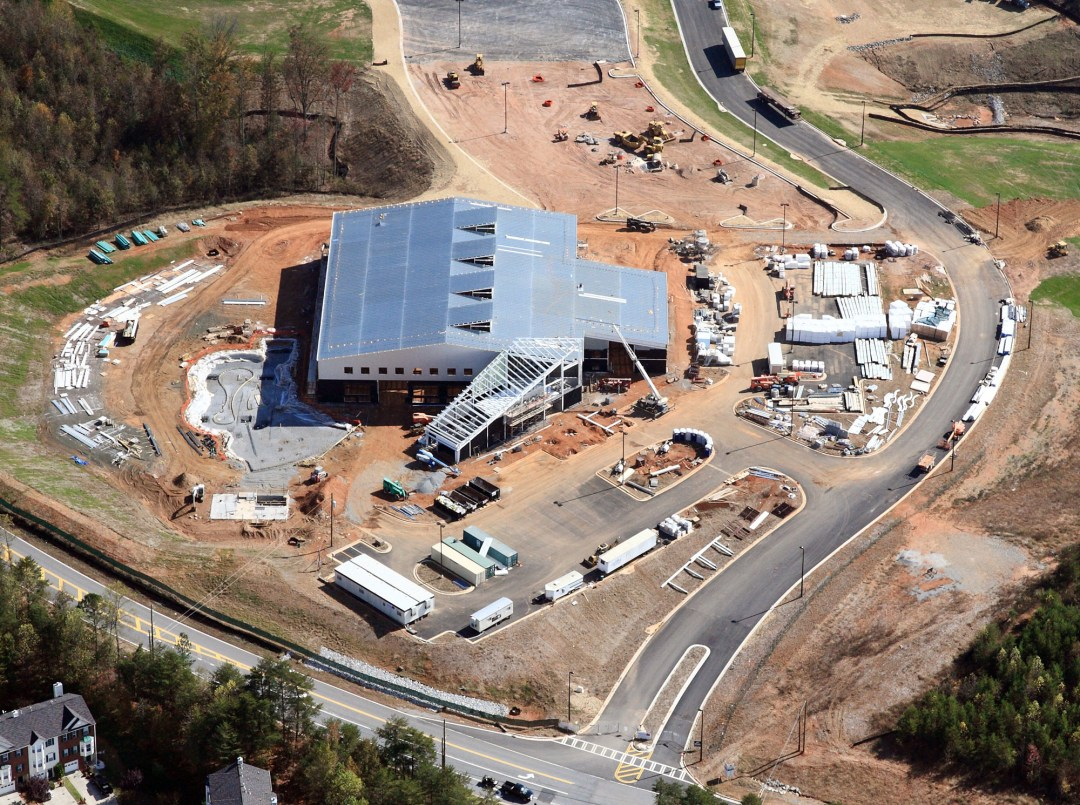 Atlanta Aerial Photography Construction Progress