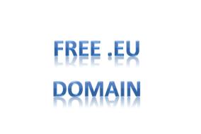 Free .eu domain name