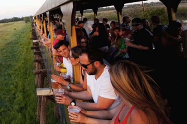 The Oakdale Beer Train