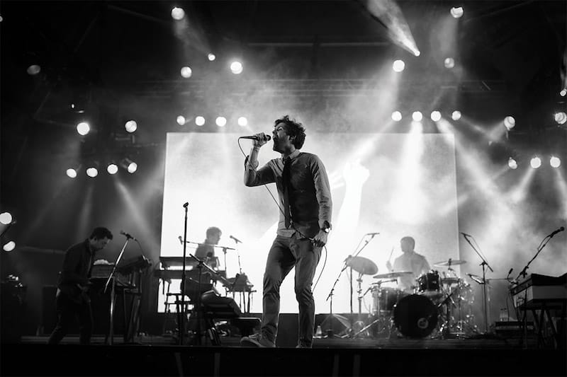 Passion Pit Performing at San Francisco Oysterfest