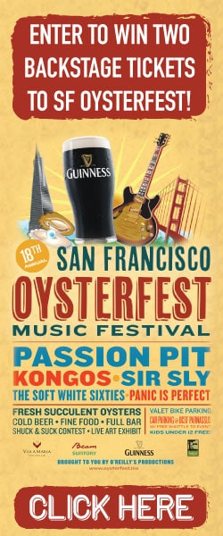 San Francisco Oysterfest Tickets Giveaway