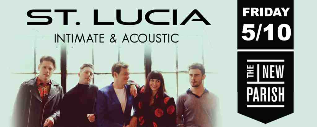 St. Lucia Intimate & Acoustic Tour at New Parish