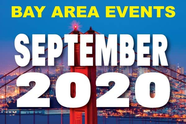 September Events Calendar Bay Area