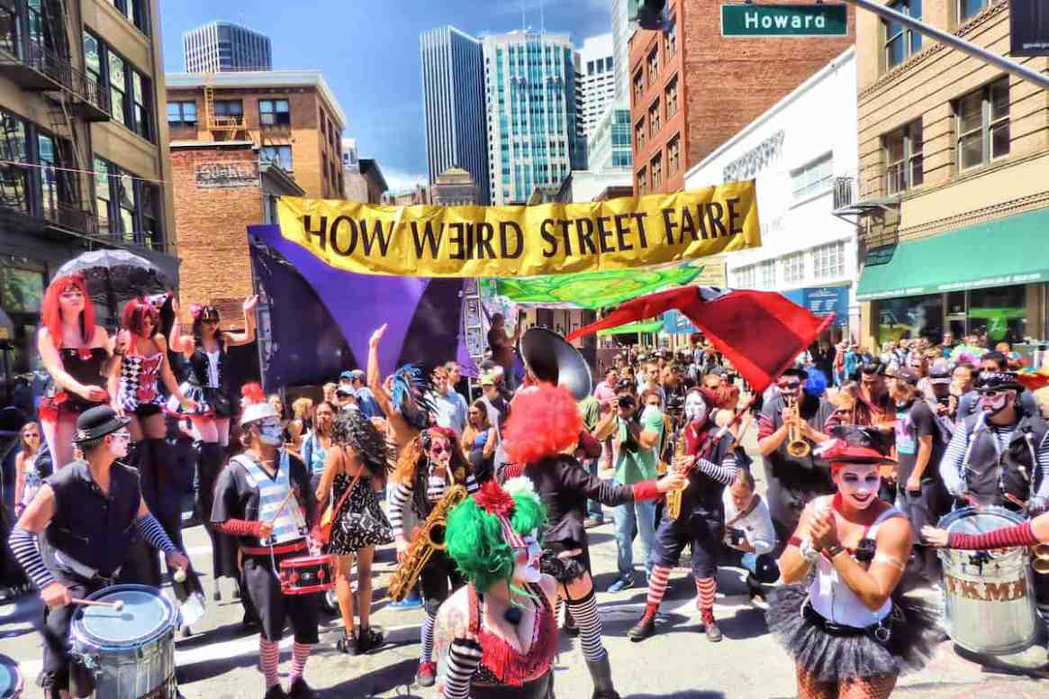 How Weird Street Faire in San Francisco, California