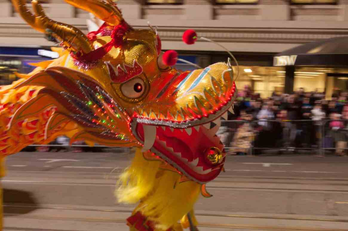 Chinese New Year Parade in San Francisco, California