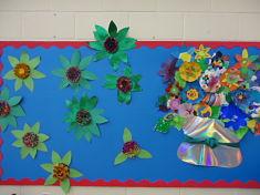 Spring Hall display