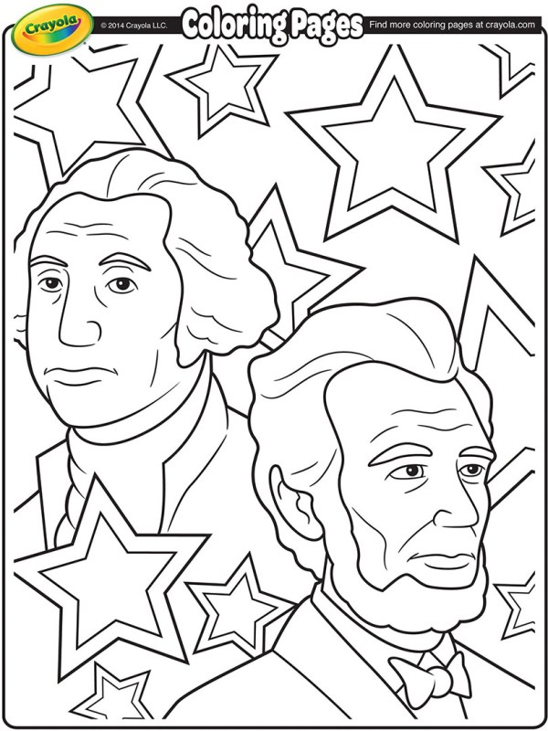 presidents coloring pages # 7