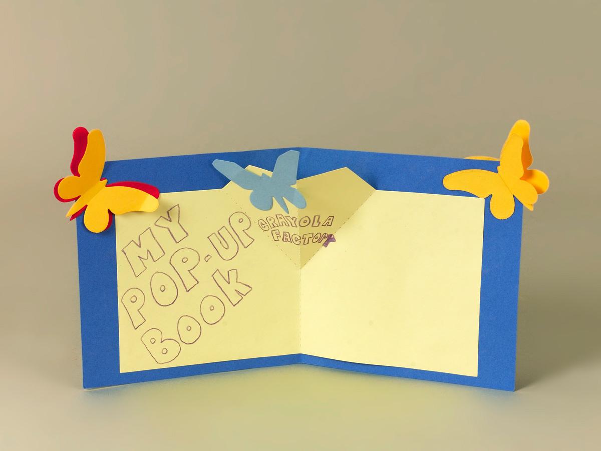 Butterfly Pop Up Book Craft