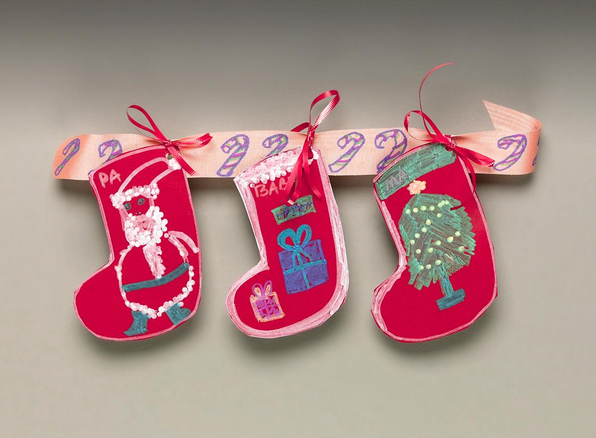 Christmas Stocking Swag Craft
