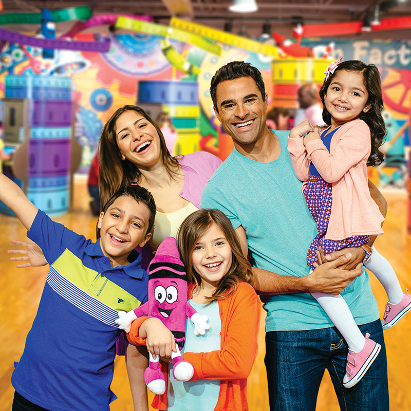 Crayola Experience Birthday Parties Group Trips Mall Of America Mn
