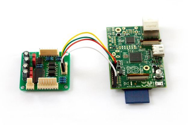 Connecting QuadVol to a Raspberry Pi