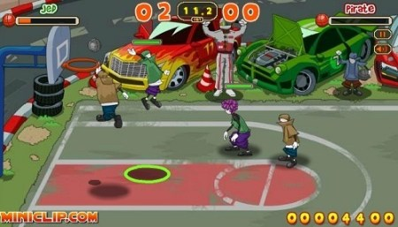 Play to Urban Basketball free   Flash games   Crazy Stuff Flash games   Urban Basketball