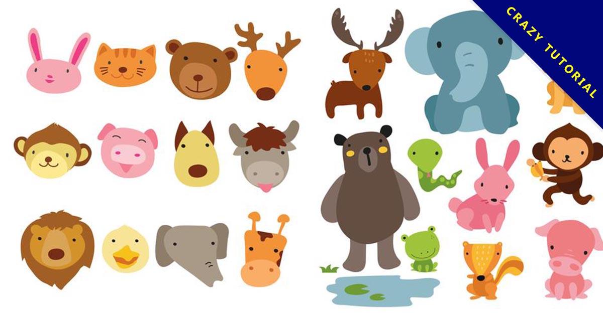 【卡通動物】37個超可愛的卡通動物下載 - 天天瘋後製-Crazy-Tutorial