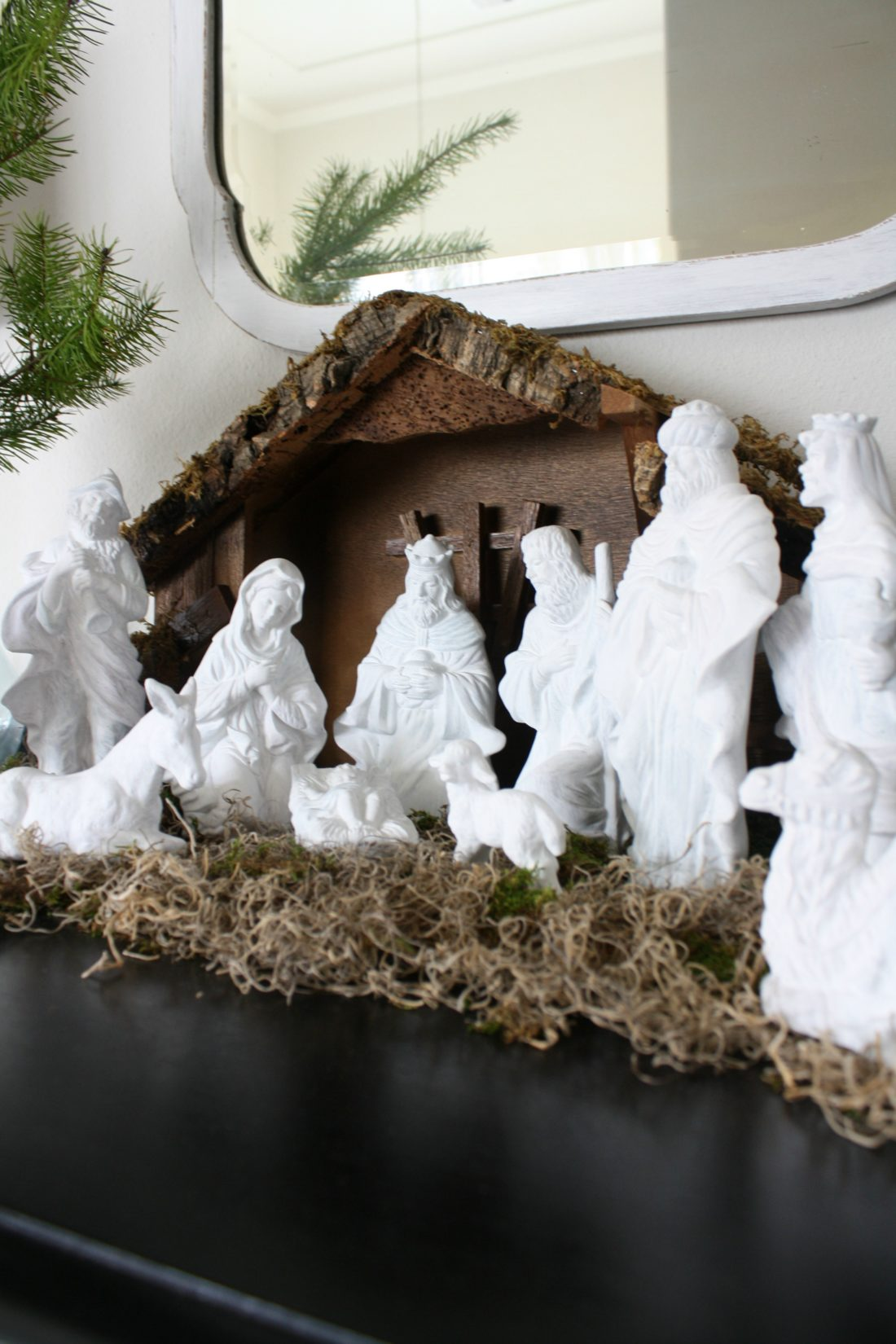 Nativity Scene Makeover Crazy Wonderful