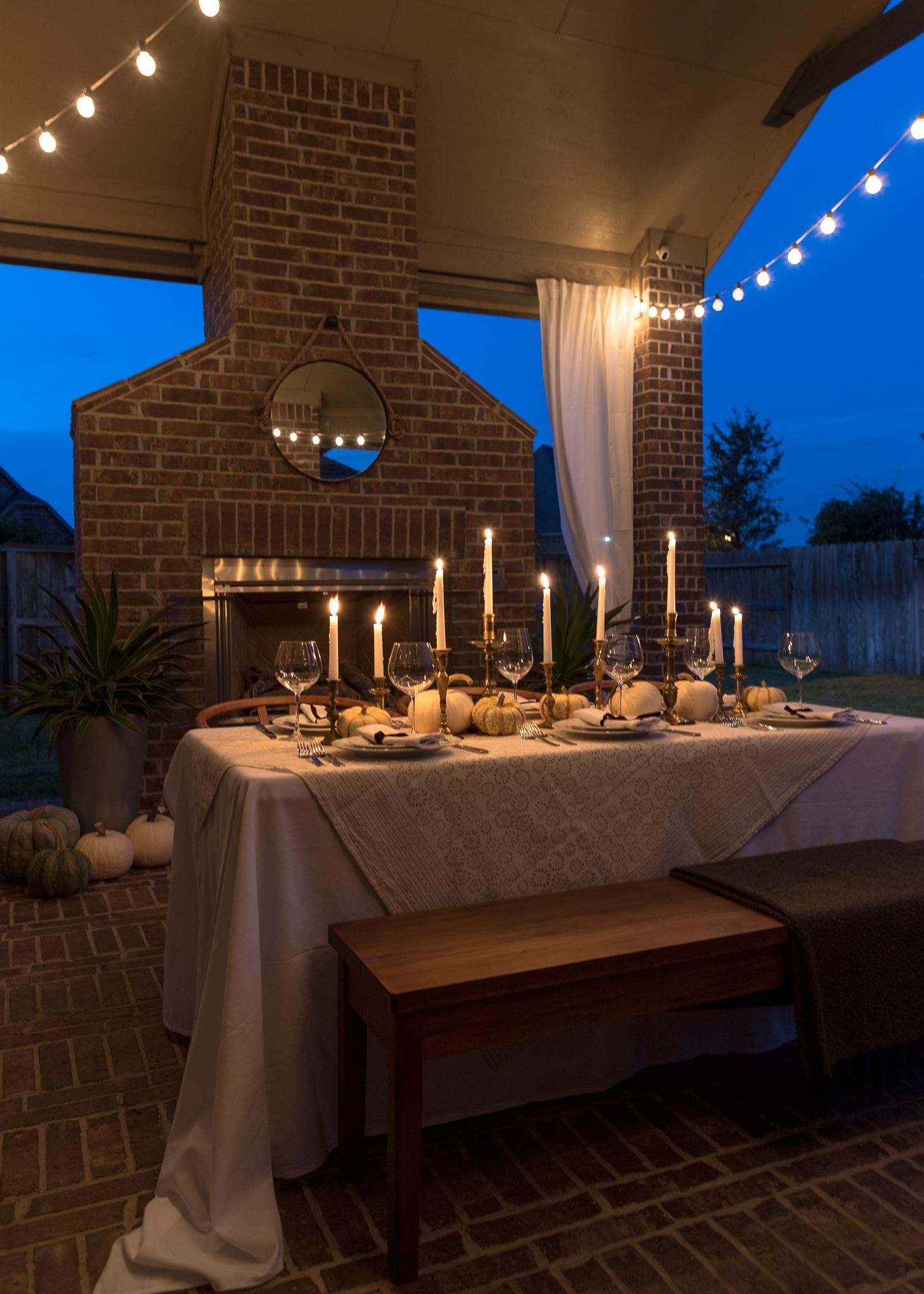Brilliant Outdoor Friendsgiving Tablescape Crazy Wonderful Short Links Chair Design For Home Short Linksinfo