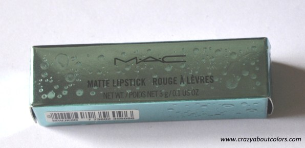 mac lipstick enchanted one (2)
