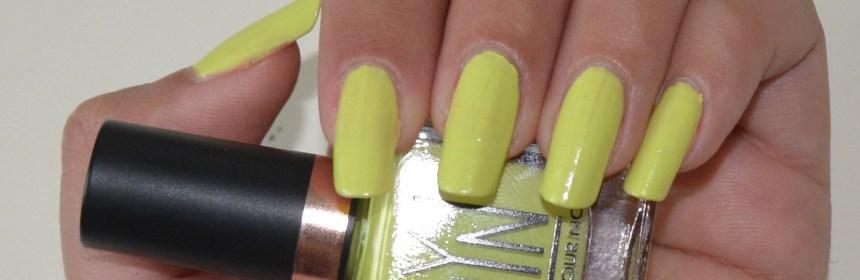 LYN nail polish keen on this green