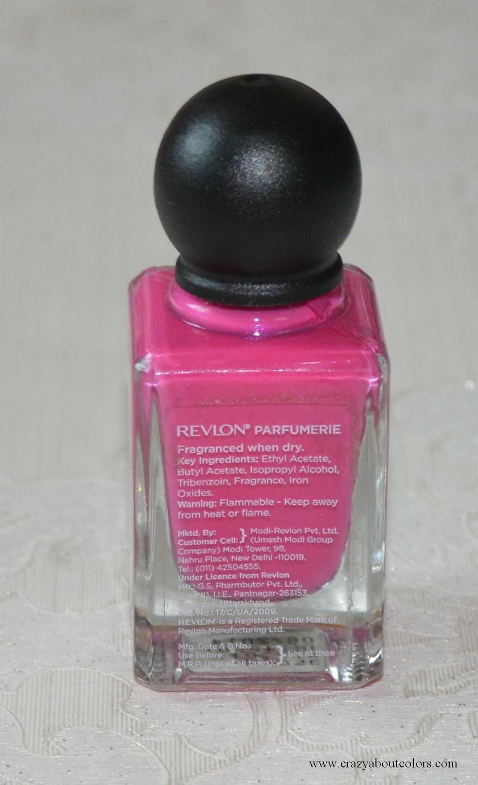 Revlon Parfumerie Scented Nail Enamel African Tea Rose: Review