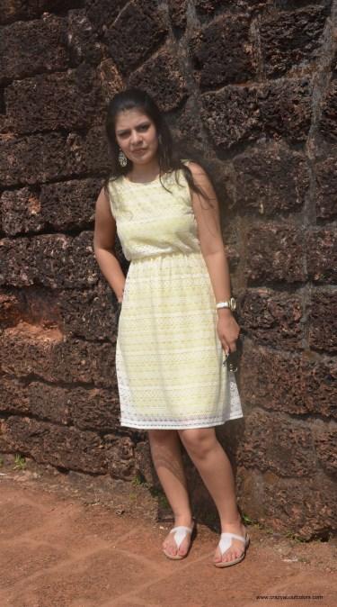 OOTD: Yellow Dress