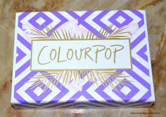 Colourpop Staycation Lippie Kit
