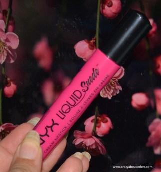 NYX Liquid Suede Cream Lipstick - Pink Lust