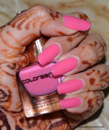 Colorbar Feel The Rain Wonder Gel Nail Lacquer Lightening