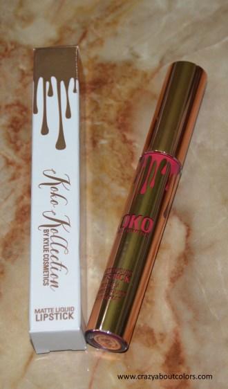 Kylie Cosmetics Matte Liquid Lipstick Okurrr