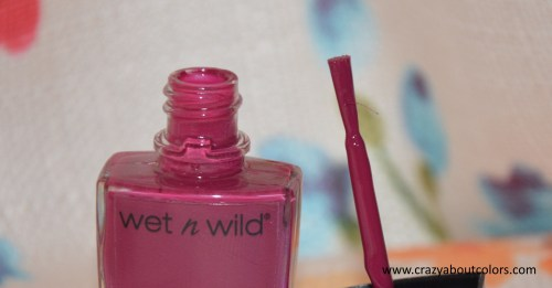 Wet n Wild Shine Nail Color Grape Minds Think Alike
