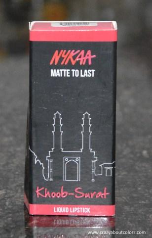 Nykaa Matte To Last Liquid Lipstick Khoob Surat
