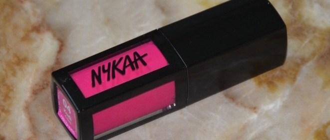 Nykaa Matte To Last Liquid Lipstick Kudi