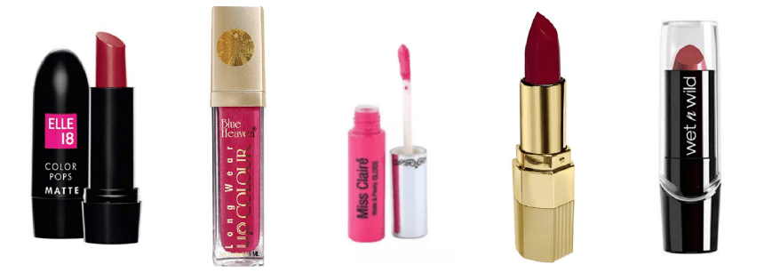 50 Lipsticks under Rs 500