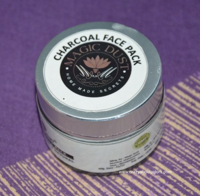 Magic Dust Charcoal Face Pack