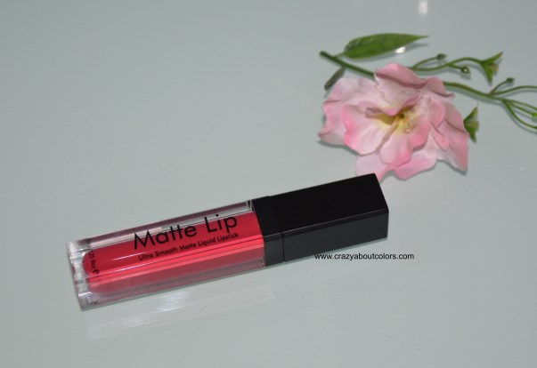 Swiss Beauty Liquid Lipstick Rose