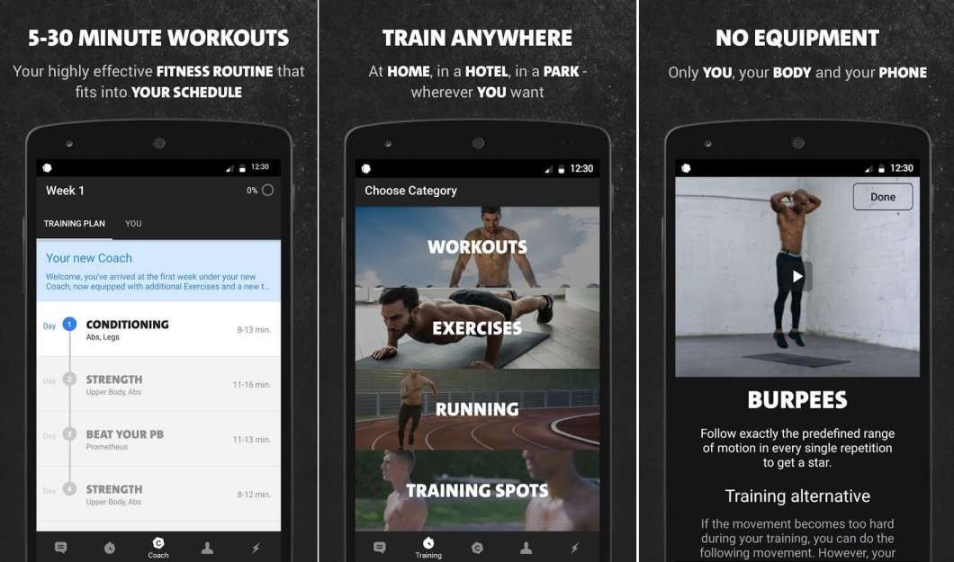 Best Free Bodyweight Workout App Android | Kayaworkout co