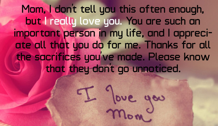100 I Love You Quotes with Images to Express Your Love   2018 Update   I Love You Mom Quotes