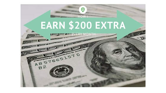 How I Earn an Easy $200 Extra a Month
