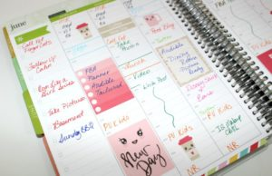 The hourly layout for the Erin Condren Life Planner. Here's why I recommend it. Click throug to read more or pin now and read later.