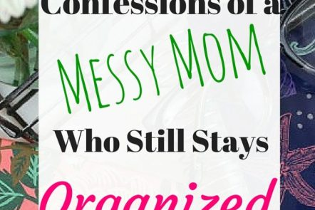 Yup- I'm a messy gal but somehow I manage to stay organized. Here is my number one resource for staying sane and organized. Click through to read more or pin and read later.