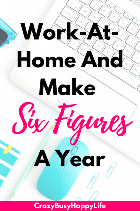 Learn how to make six figures a year by selling with Amazon FBA. This is a great work-at-home job or a money-making side hustle. It's also great for work-at-home moms! Read now. WAHM, SAHM, money, income, passive income