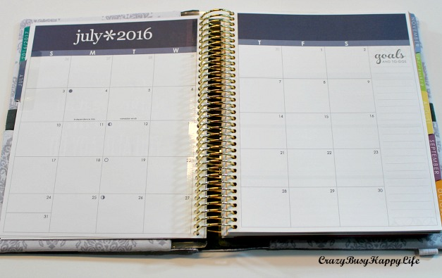 photograph relating to Erin Condron named A Overall look within just the Erin Condren Daily life Planner: Horizontal Structure -