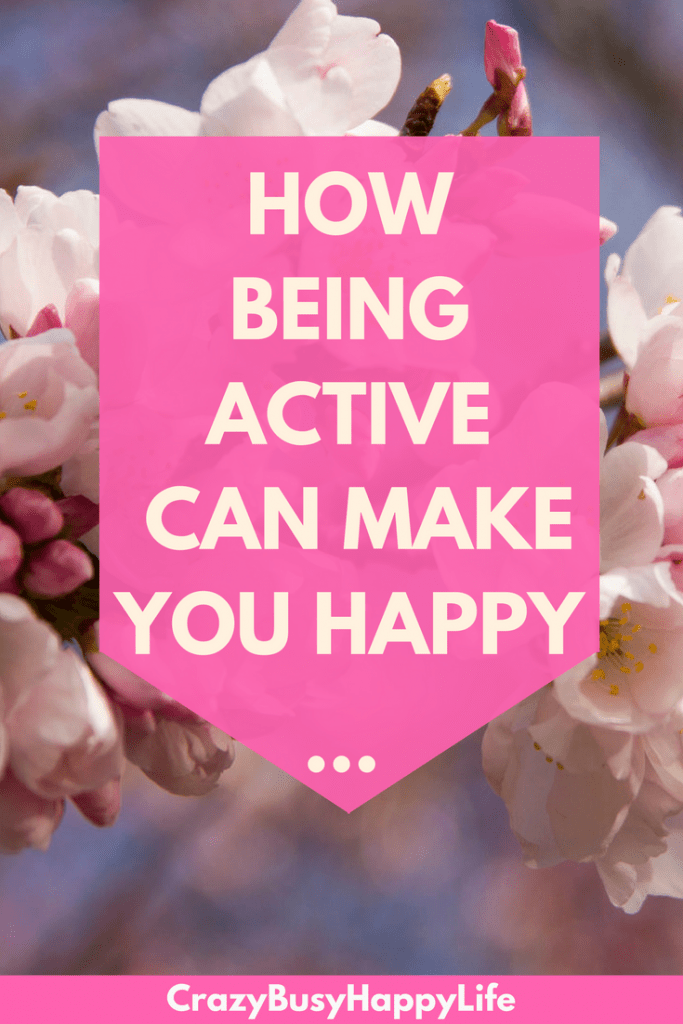 Being active, even for just 15 minutes a day, can greatly increase your happiness. Learn more now.