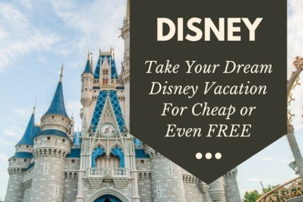 You CAN take your dream Disney vacation. Learn how to take a cheap Disney vacation. Thrfty ideas for saving money, earning money, and creating a budget for your Disney trip. Click through to read more or pin now and read later.