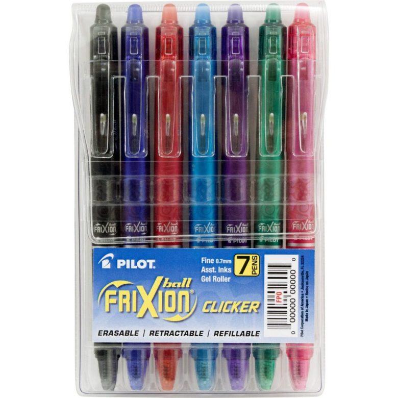 erasable pens